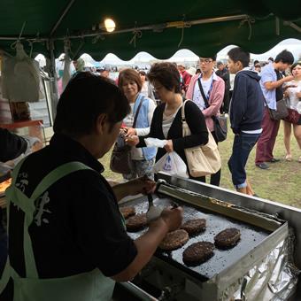 宗谷岬牧場のハンバーグは「北の恵 旭川食べマルシェ」でも大人気!